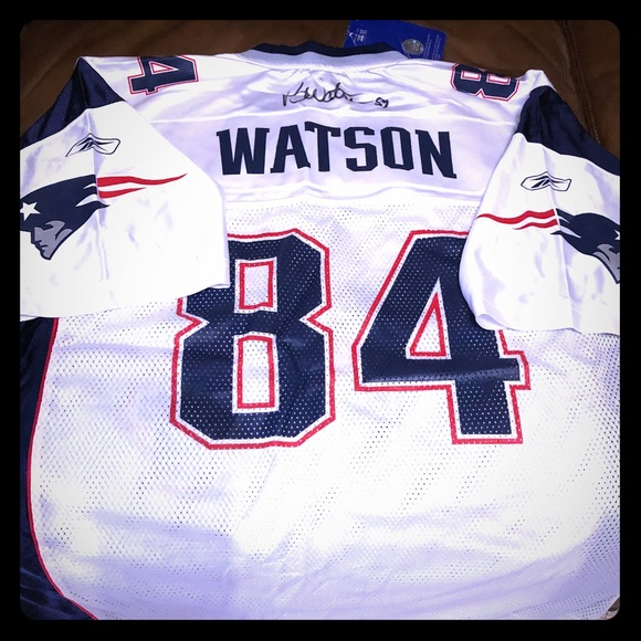 100% authentic 3e565 25118 New Eng Patriots - Ben Watson Autographed Jersey NWT
